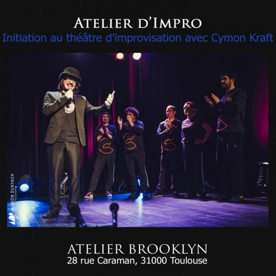 Atelier Impro Cymon Kraft a la Comédie de Toulouse