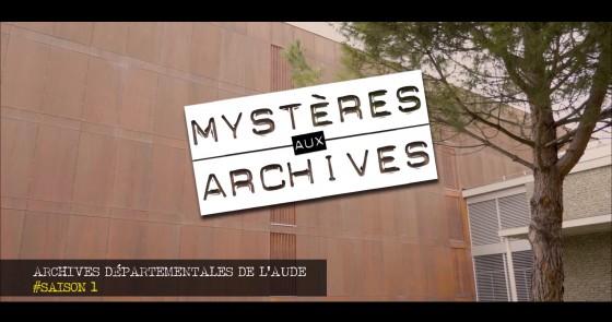 Web série - Mystères aux Archives